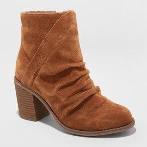 Shoes - Target Brown Suede Booties